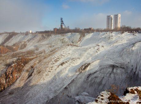 Провальна зона шахти Гвардійська
